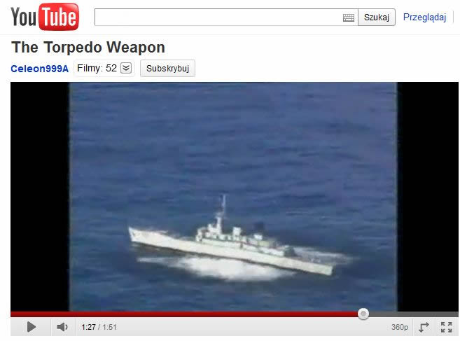 W czasie wojny z powodzeniem wykorzystywano również torpedy mniejszego kalibru zrzucane przez samoloty
