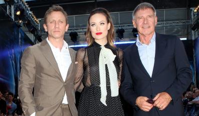 Daniel Craig, Olivia Wilde i Harrison Ford