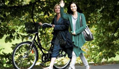 Magda i Edyta na spacerze