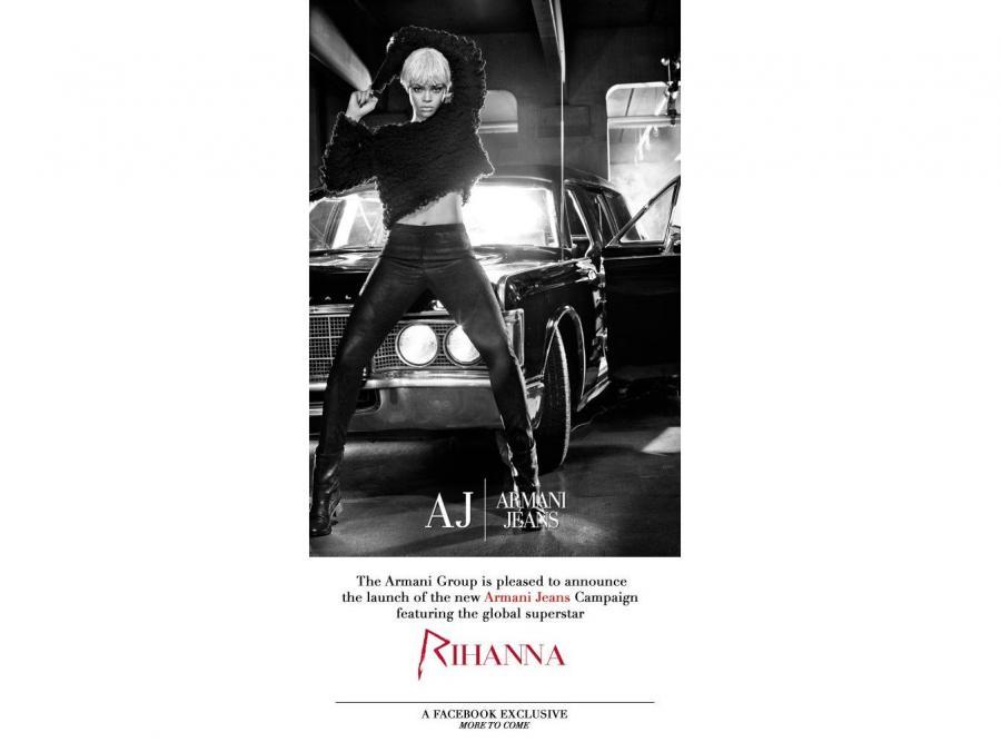 Rihanna nową twarzą Emporio Armani