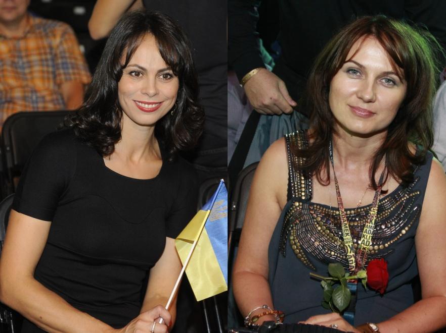 Natalia Kliczko i Dorota Adamek z zapartym tchem obserwowały walkę swoich mężów.