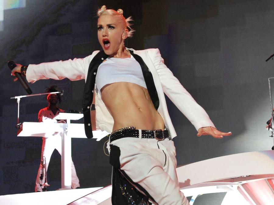 Gwen Stefani z No Doubt w 2009 roku