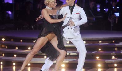 Kacper i Ania Głogowska w tańcu