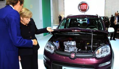 Kanclerz Niemiec pod wrażeniem wynalazku z polskiej fabryki