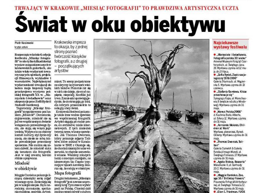 Fotograficzna uczta w Krakowie