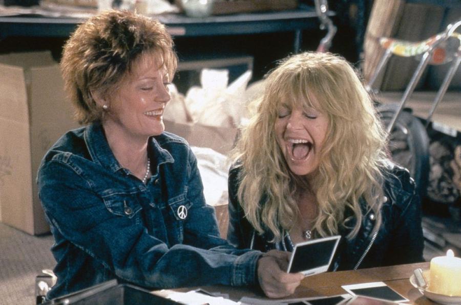 Goldie Hawn (po prawej)