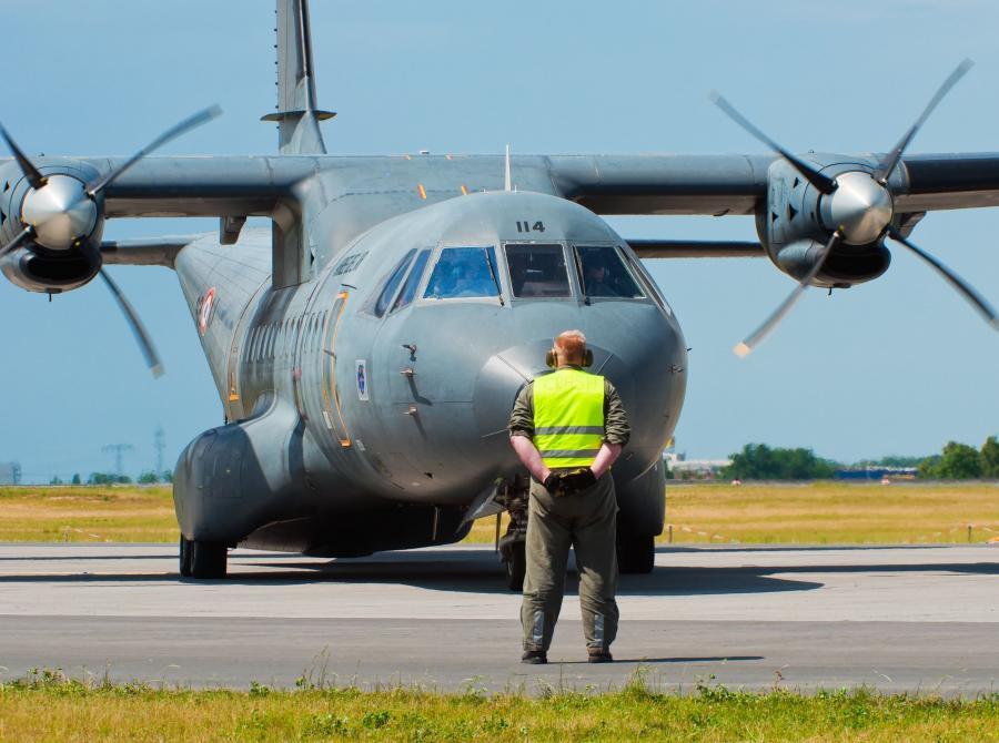 Samolot transportowy CASA