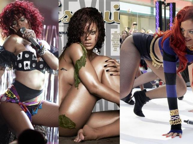 Najseksowniejsza Ziemianka: Rihanna w gorących odsłonach