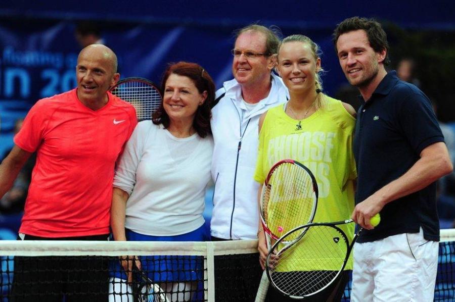 Gwiazdy kochają grać w tenisa