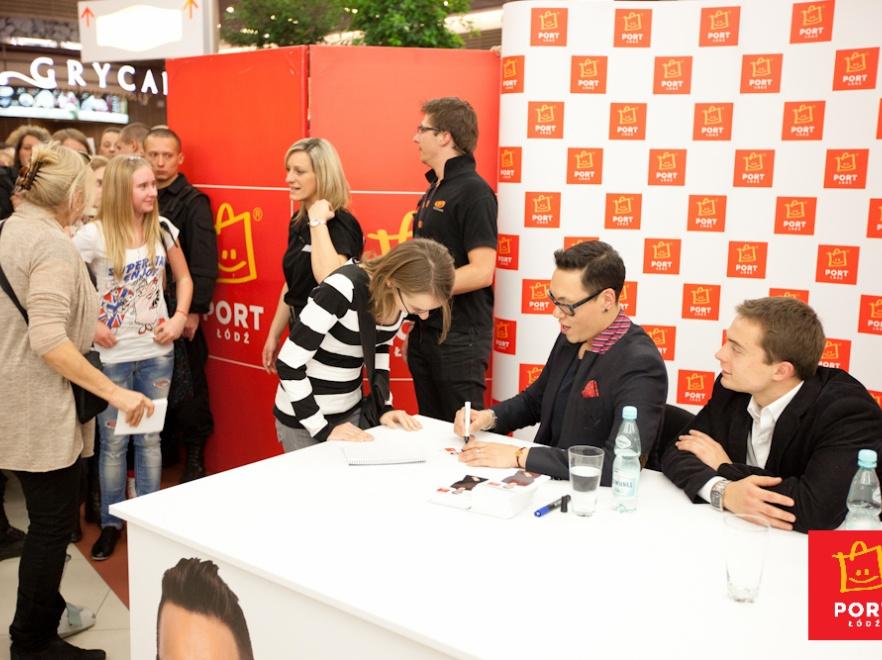 Gok Wan w czasie spotkania z fanami.