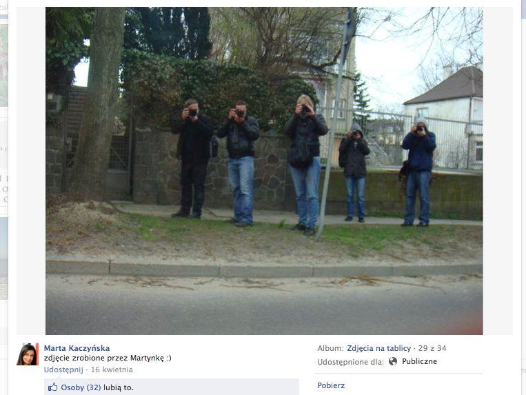Paparazzi śledzą Martę Kaczyńską