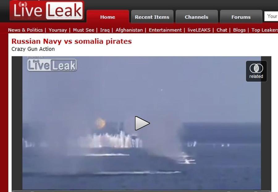 Tak Rosjanie walczą z piratami