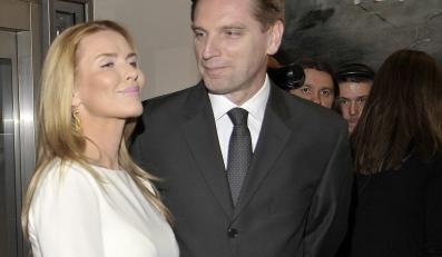Hanna Lis z mężem Tomaszem