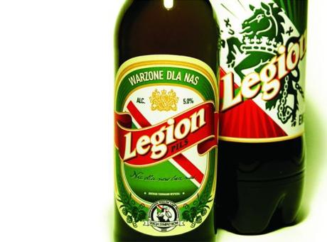 Legia dostanie własne piwo