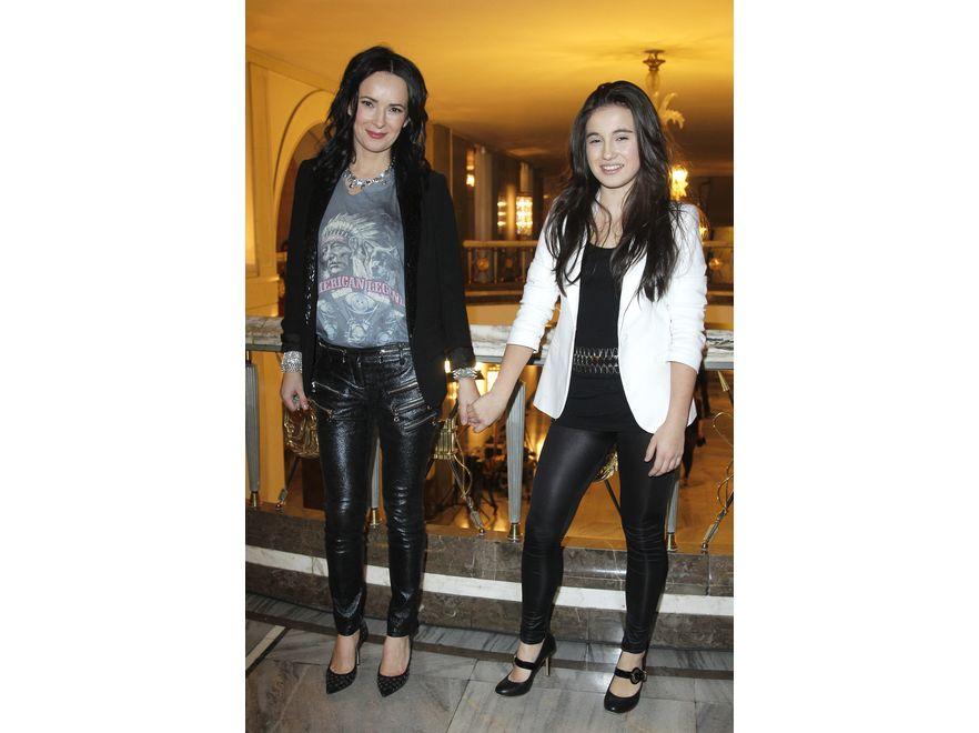 Kasia Kowalska z córką na 15-leciu Fundacji Polsat