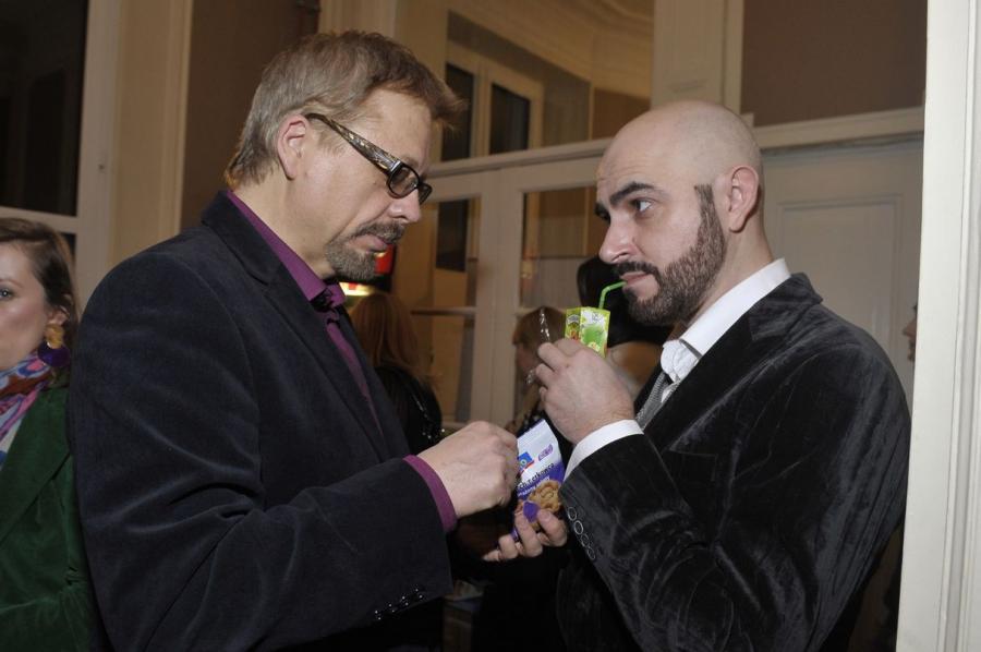Tomasz Raczek i Marcin Szczygielsk