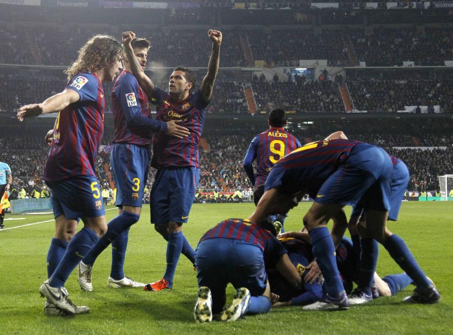 Pikarze Barcelony wygrali w Madrycie 3:1