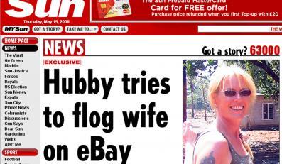 Chciał sprzedać żonę, bo podejrzewał ją o romans