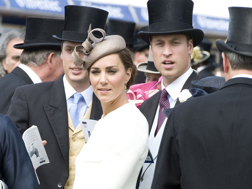 Kate Middleton, księżna Cambridge z księciem Williamem