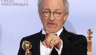 """Steven Spielberg ze Złotym Globem za """"Przygody Tintina"""""""