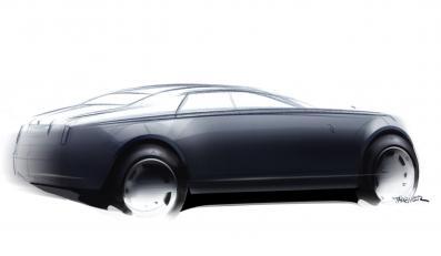 Anglicy ujawnili szkice nowego Rolls-Royce'a