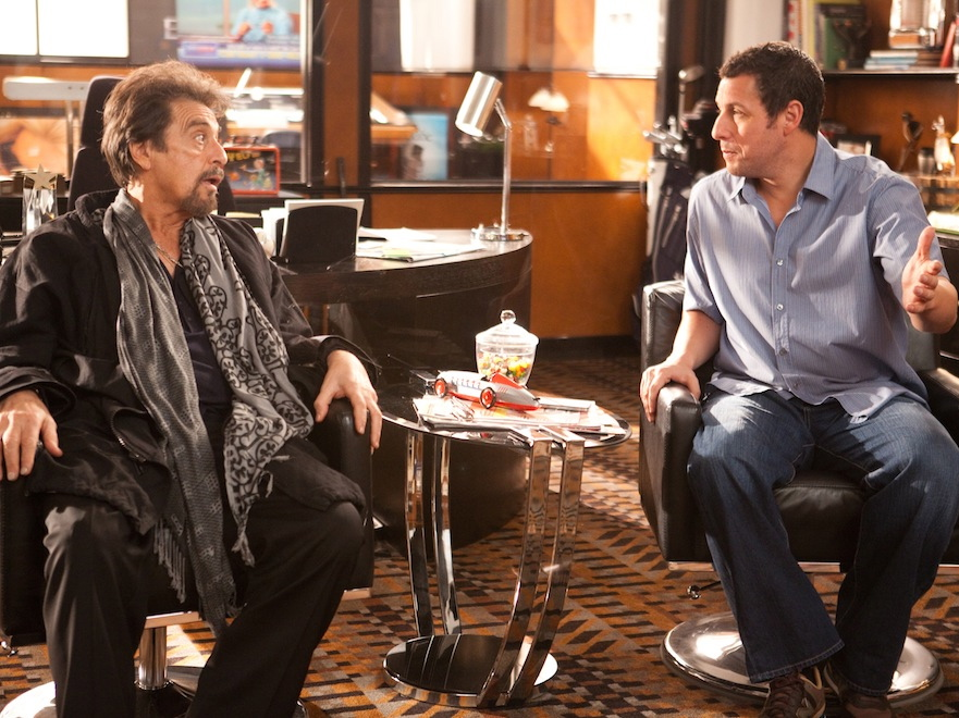 Al Paciono i Adam Sandler w komedii \