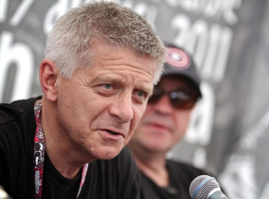 Prezes NBP Marek Belka na Przystanku Woodstock