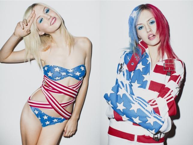 Charlotte Free w kampanii reklamowej kolekcji adidas Originals X Jeremy'ego Scotta