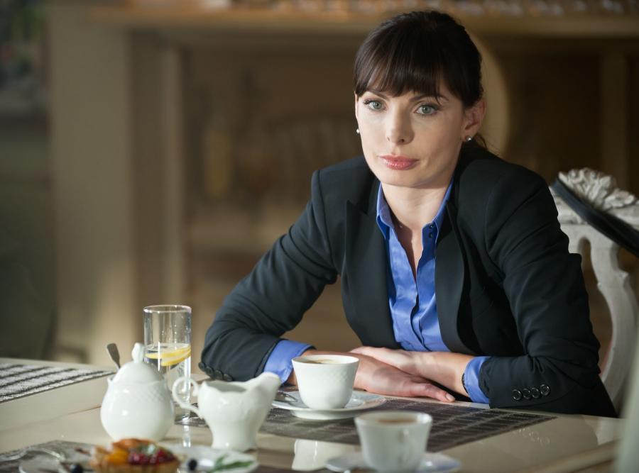 Agnieszka Dygant w serialu \