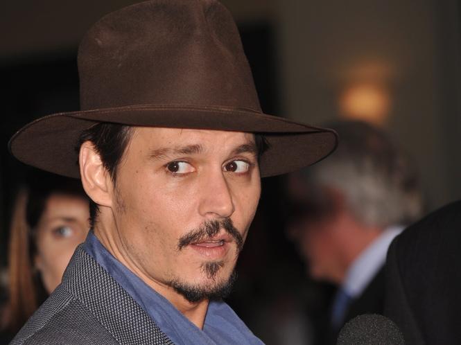 Johnny Depp w kinowej wersji serialu \
