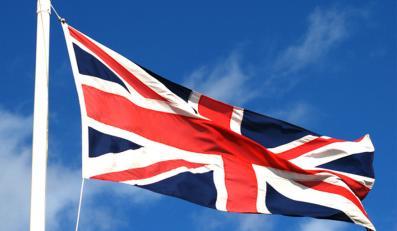 Flaga Wielkiej Brytanii - zdjęcie ilustracyjne