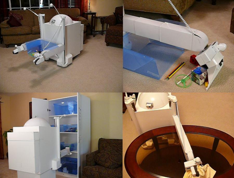 Domowy robot zamiecie, zbierze zabawki i poukłada w szafie