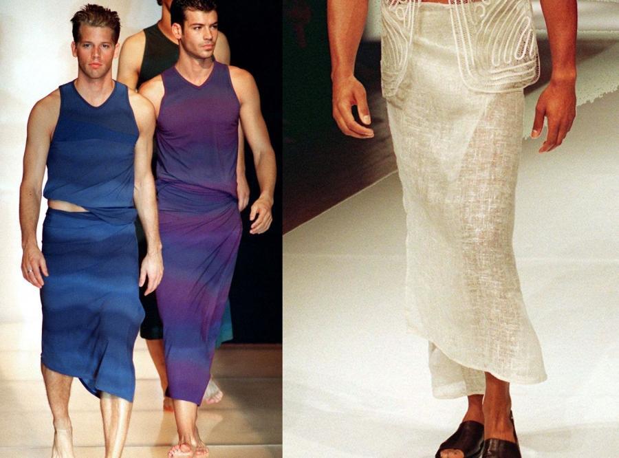 Mężczyźni w sukniach