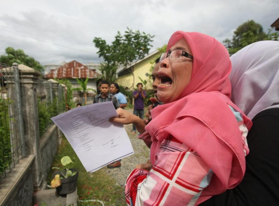 Alarm i ewakuacja w Banda Aceh