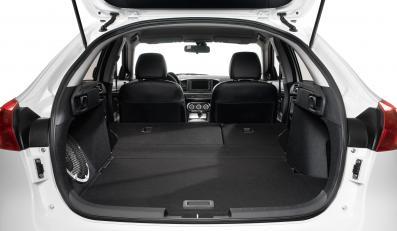 Auto zmieści od 288 l - lub 344 l z podłogą w dolnej pozycji - do niemal 1400 litrów