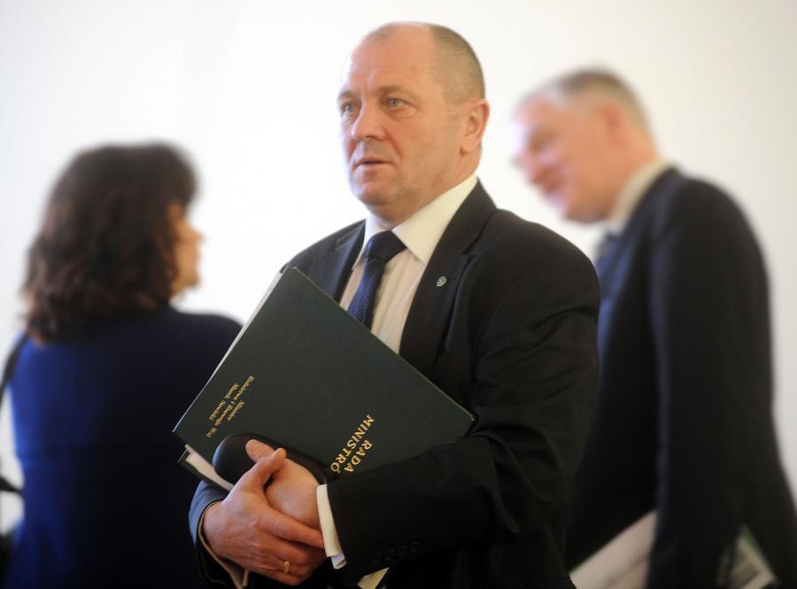 Misniter rolnictwa Marek Sawicki
