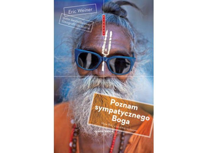 """Okładka książki """"Poznam sympatycznego Boga"""""""