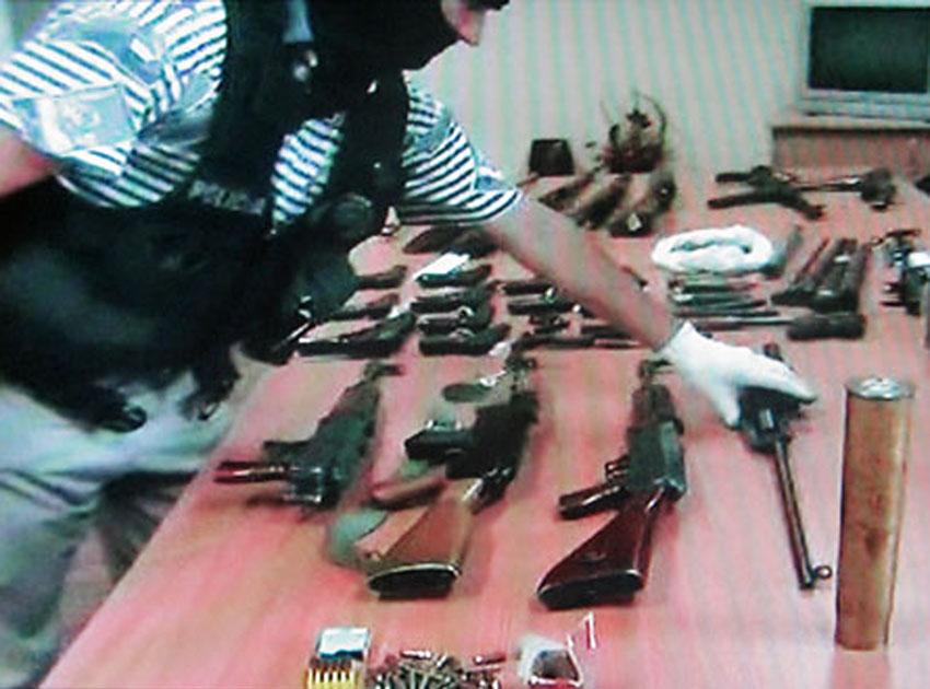 Śląsk: Policja zlikwidowała nielegalne arsenały