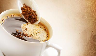 Filiżanka kawy rozupszczalnej