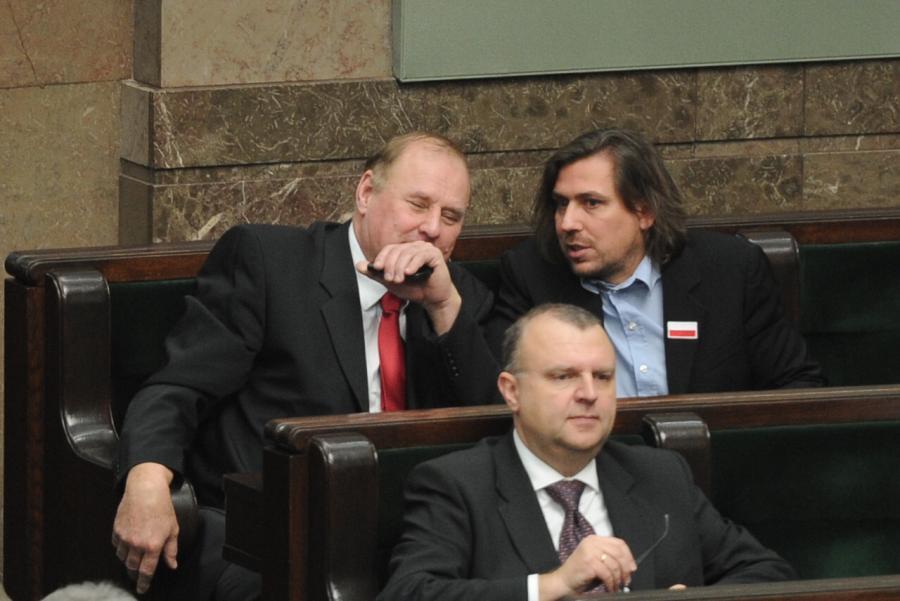 Jan Tomaszewski i Tomasz Kaczmarek