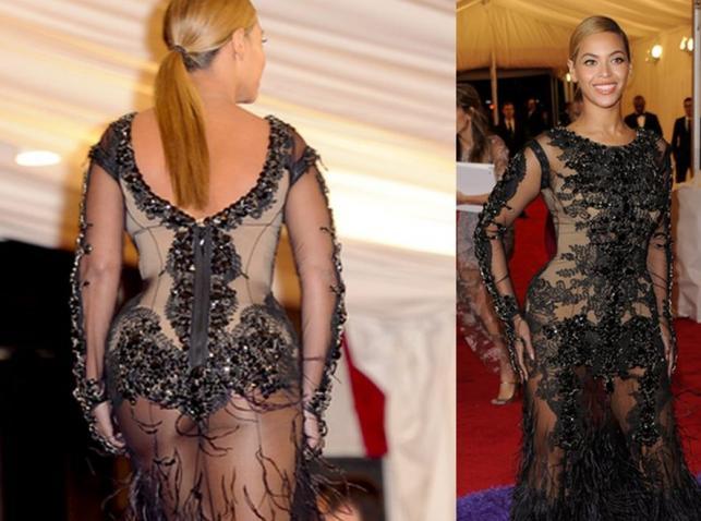 Beyonce w seksownej kreacji
