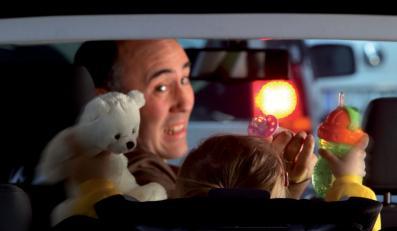 Klniesz w samochodzie? Twoje dziecko będzie piratem drogowym