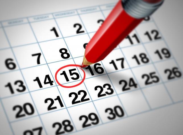 Kalendarzyk dni płodnych