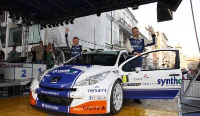 Michał Sołowow i Maciek Baran (Peugeot 207 S2000) zajęli 4 miejsce w Croatia Rally
