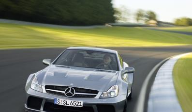 Mercedes SL 65 AMG Black Series, czyli najnowsza zabawka dla twardzieli z wielkim kontem