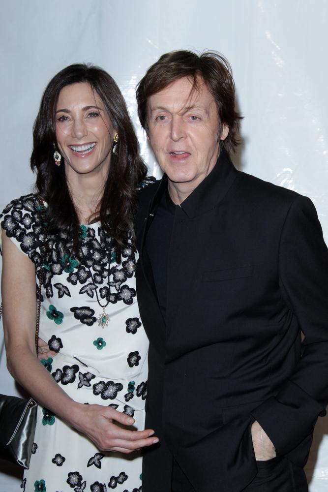 Paul McCartney z trzecią żoną