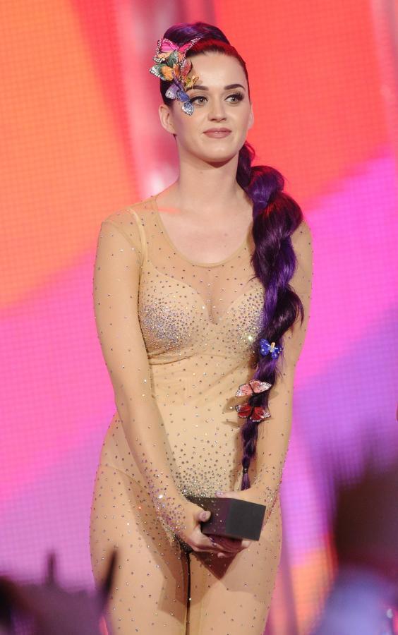 Katy Perry na gali rozdania nagród MMVA