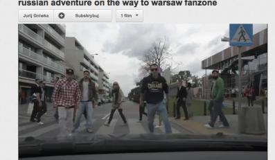 Przygoda rosyjskich kibiców w Warszawie