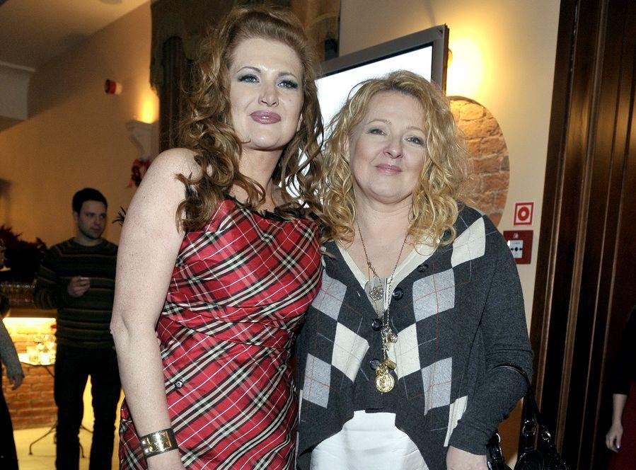 Marta Grycan i Magda Gessler