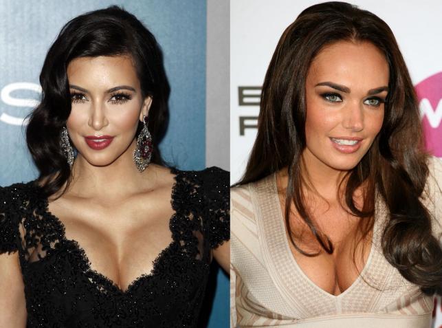 Kim Kardashian i Tamara Ecclestone